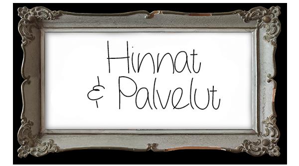 Hinnat & Palvelut
